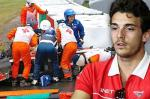 Les images choc du terrible crash de Jules Bianchi
